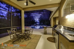 Best Real Estate Photography - Outdoor Kitchen